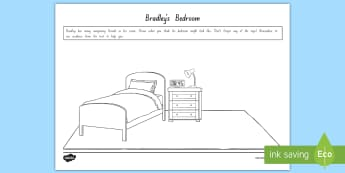 Term 1 Week 1 Year 5 and 6 Chapter Chat Bradley's Bedroom Activity Sheet to Support Teaching On There's a Boy in the Girls' Bathroom by Louis Sachar - Louis Sachar, Chapter Chat, Year 5-6, worksheet, There's A Boy In The Girls' Bathroom, Reading, Cl