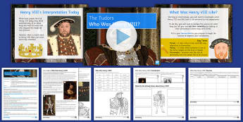 The Tudors Lesson 2: Who Was Henry VIII? - Tudor, KS3, History, English Reformation, Source Enquiry, reliability, usefulness, propaganda, portr