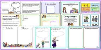 Teaching Assistant Social Skills Resource Pack - SEN, PSHe, social development, social skills, friends, friendships, relationships, emotional, intervention, TA, group, support, additional, needs, asd