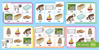 Phase 3 oa Sound Bingo - Scottish - phonics, phoneme, game, phase 3, activity, worksheet, letters and sounds, qu,Scottish