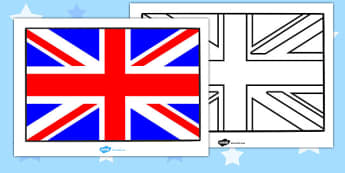 Union Jack Display Poster - union jack, display, poster, sign, banner, Great Britain, flag