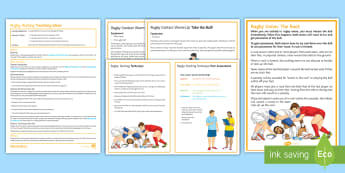 Rugby: Rucking Lesson Pack  - PE, Rugby, KS3, rucking, lesson plan,