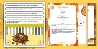 Autumn Number Playdough Recipe and Mat Pack