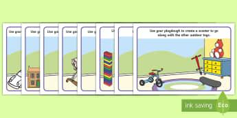 Toy Themed Playdough Mats - toys, fine motor skills, playdough