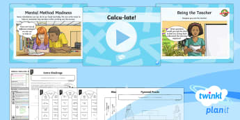 PlanIt Maths Y6 Addition, Subtraction, Multiplication and Division Lesson Pack Mental Calculations (5) - Addition, Subtraction, Multiplication and Division, Multiple, add, plus, subtract, minus, take away,