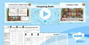 PlanIt Maths Y3 Statistics Lesson Pack Charts and Graphs (6)