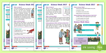 Science Week 2017 Fact File - KS1, Year 1, Year 2, Science, Science Week, Change, Investigation, Scientists, Experiments, Reading,