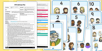 Number Families Movement Activity EYFS Adult Input Plan and Resource Pack