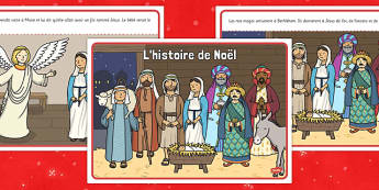 L'histoire de Noël French - french, christmas story, christmas, story