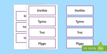 Labeli Geirfa Allweddol Grymoedd - WL Social Media Requests in Welsh KS2 (HIGH PRIORITY) Geirfa Allweddol Grymoedd, labeli, ffrithiant,