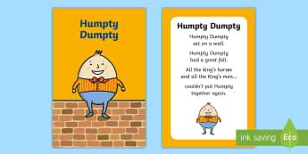 Humpty Dumpty Nursery Rhyme IKEA Tolsby Frame - baby signing, baby sign language, communicate with baby, pre verbal baby, tiny talk, sing and sign,