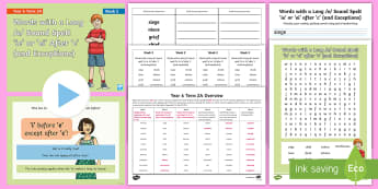 Year 6 Term 2A Week 2 Spelling Pack - Spelling Lists, Word Lists, Spring Term, List Pack, SPaG