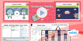 PlanIt Maths Y1 Number and Place Value  Lesson Pack One More and One Less to 50 - finding, find, 50, fifty, numbers numbers to 50, numerals, words, next number, counting on one, coun