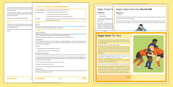Rugby: Maul Lesson Pack - rugby, PE, KS3, KS4, Lesson plan, maul