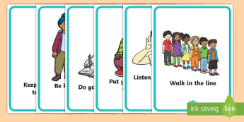 Classroom Behaviour Display Posters - Classroom behaviour cards - Golden time, rules, routines, behaviour, targets, award, reward, behavio