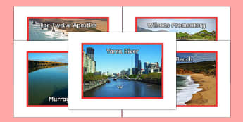 Victoria Natural Features Photo Pack - australia, rivers, lakes, mountains, natural, tourist attraction, landscape, landmark