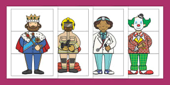 Dressed by the Kids Day Mix n Match Outfits Activity Sheet - Oxfam Dressed by the Kids Day, worksheet, matching