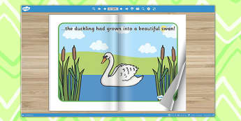 The Ugly Duckling eBook - books, interactive books, reading