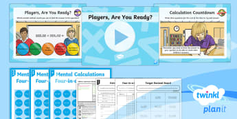 PlanIt Maths Y6 Addition, Subtraction, Multiplication and Division Lesson Pack Mental Calculations (2) - Addition, Subtraction, Multiplication and Division, Multiple, add, plus, subtract, minus, take away,