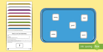 What's on the Tray? The Next 200 Common Words Memory Activity Pack  - memory games, memory, memory game, memory activities, memory games for kids, auditory memory activit