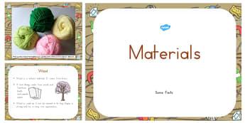 Materials Information PowerPoint - australia, materials, information