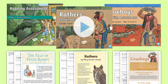 Year 3 Term 2 Reading Assessment Bumper Resource Pack - Year 3, y3, term 2, Reading Assessment Guided Lesson PowerPoints, KS2, reading, read, assessment, gu