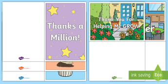 World Teachers Day Gift Card Template - Australia, International, Teachers, Writing, Creative Writing, Early Years, Foundation,Australia