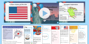 Independence Day Grade 3-5 Activity Pack - Independence Day, 4th of July, July 4th, Fourth of july, declaration of Independence, founding fathe