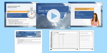 RS GCSE: Concluding Evaluation Questions PowerPoint Pack