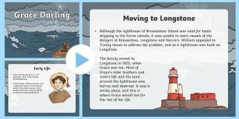 Grace Darling Information PowerPoint - significant individuals