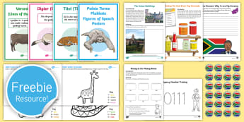 Free South Africa Taster Resource Pack - free sample pack, teaching resources, sample pack, Twinkl, South African resources