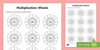 KS2 Multiplication Worksheets Primary Resources