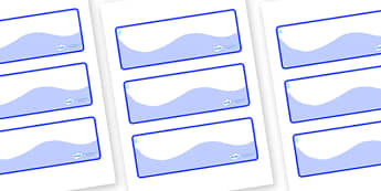 Raindrop Themed Editable Drawer-Peg-Name Labels (Colourful) - Themed Classroom Label Templates, Resource Labels, Name Labels, Editable Labels, Drawer Labels, Coat Peg Labels, Peg Label, KS1 Labels, Foundation Labels, Foundation Stage Labels, Teaching