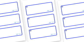 Scotland Themed Editable Drawer-Peg-Name Labels (Blank) - Themed Classroom Label Templates, Resource Labels, Name Labels, Editable Labels, Drawer Labels, Coat Peg Labels, Peg Label, KS1 Labels, Foundation Labels, Foundation Stage Labels, Teaching Lab