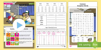Year 2 Term 2A Week 6 Spelling Pack - Spelling Lists, Word Lists, Spring Term, List Pack, SPaG