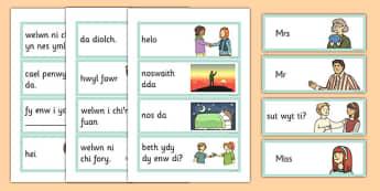Welsh primary resources welsh wales cymru page 4 greetings flashcards cymraeg cymraeg greetings flashcards welsh language m4hsunfo