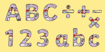 School Council-Themed Display Lettering - members, representatives, vote, class reps, council display,