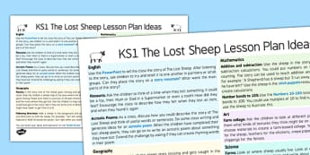 The Lost Sheep Lesson Plan Ideas KS1 - lesson plan, ideas, KS1