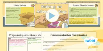 D&T: Programming Adventures: Making an Adventure Map Upper KS2 Lesson 5