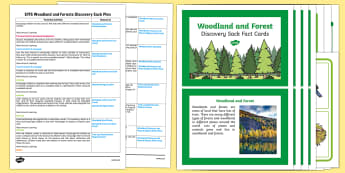 EYFS Woodland and Forests Discovery Sack Plan and Resource Pack - woodland, forest, EYFS