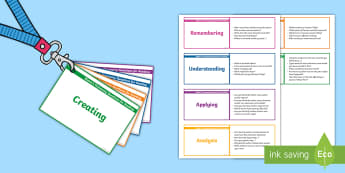 Lanyard Sized Bloom's Taxonomy Questions for Reading Cards - reading, comprehension, assessment, assess, guided reading, questions, lanyard, prompts, genre, char