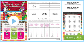 Year 2 Term 2A Week 1 Spelling Pack - Spelling Lists, Word Lists, Spring Term, List Pack, SPaG, GPS