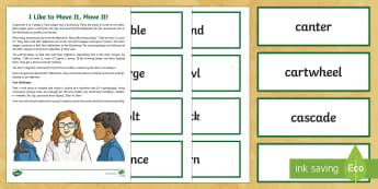 Movement Word Card Game - pirates, pirate ships, movement, game, what are sound stories, sound stories, sound story, internati