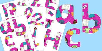 Fashion Display Lettering - fashion, display lettering, display, lettering