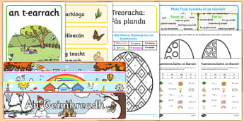 Spring Resource Pack Gaeilge