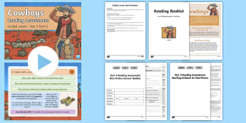 Year 3 Term 2 Non-Fiction Reading Assessment Guided Lesson Teaching Pack - Year 3, Reading Assessment Guided Lesson PowerPoints, KS2, reading, read, assessment, guided, guidan