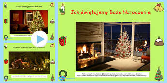 How We Celebrate Christmas PowerPoint Polish - festive, international, culture, differences, comparison, early years, ks1, ks2, key stage 1