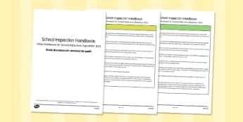 Grade Descriptors for Outcomes for Pupils Descriptors Ofsted September 2015 -  ofsted, SLT, assessment, progress
