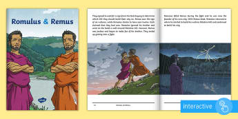 Romulus and Remus eBook - myth, Ancient rome, Legend, Roman gods, history