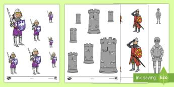 Trefnu Maint Cestyll a Marchogion - cestyll, castell, marchog, marchogion, mathemateg, trefnu maint, mesur, maint,,Welsh